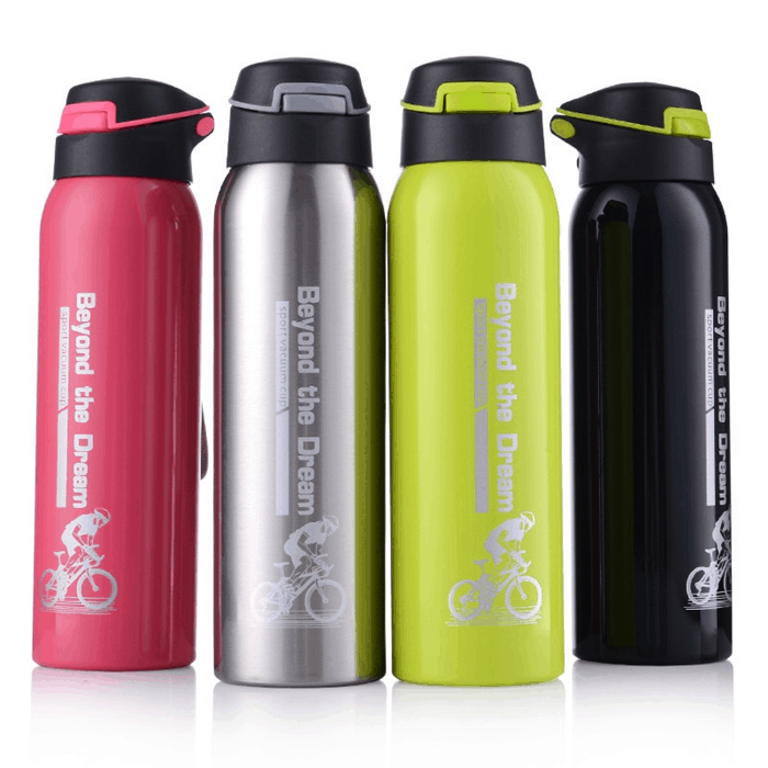 Thermos Water Bottle Travel Container