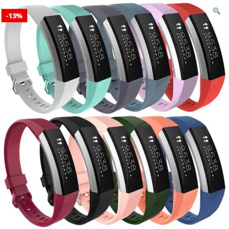 Fitness Band With Silicone Strap