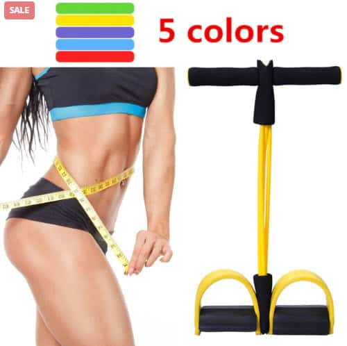 Top 50 Workout Equipment: 4 Tube Fitness Resistance Bands