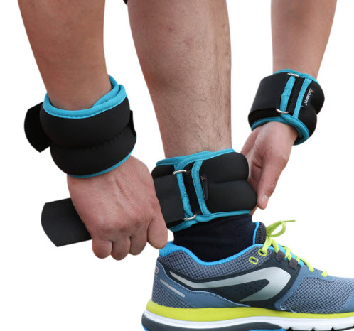 Adjustable Weights For Wrist And Ankle
