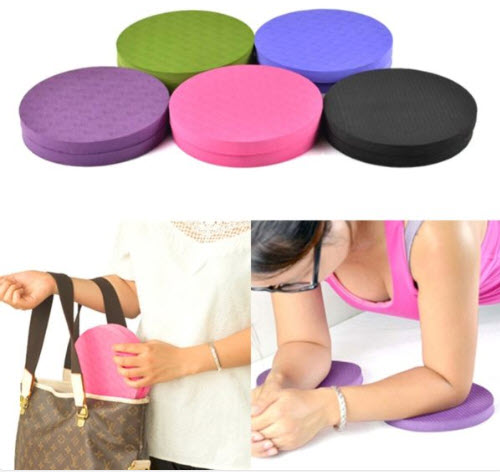 Small Portable Knee-Elbow Mats For Workout